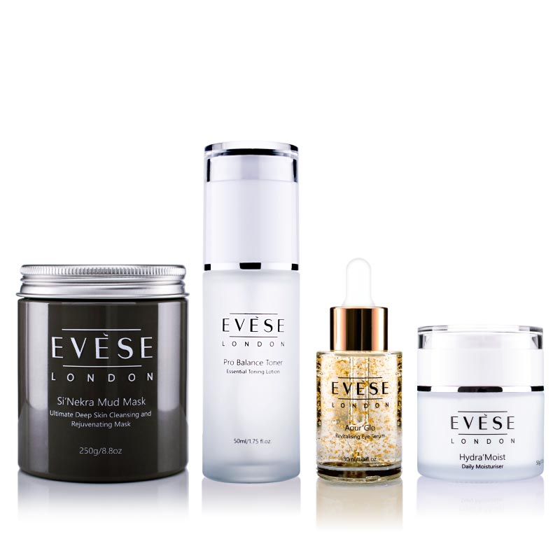 Glam Deluxe – Skincare Collection. anti ageing, vegan skincare, wrinkle correct; skin routine